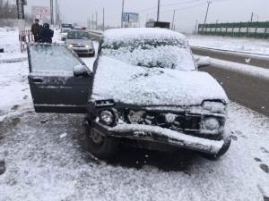 В Сызрани в ДТП пассажир получил перелом носа