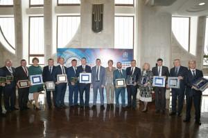 За победу в конкурсе «Самое благоустроенное муниципальное образование Самарской области».