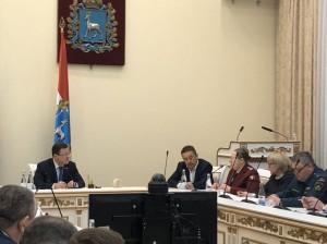 Дмитрий Азаров провел заседание оперативного штаба по предупреждению завоза и распространения новой коронавирусной инфекции