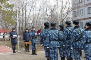 Мероприятие было посвящено дню работника уголовно-исполнительной системы и 75-летию великой Победы.