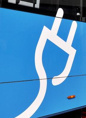 Самарский электробус на время непогоды отправили в депо