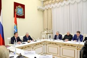 Губернатор Дмитрий Азаров провел заседание Общественной палаты Самарской области
