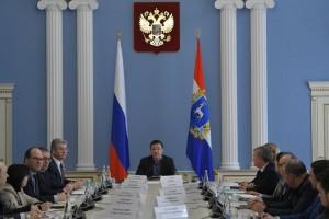 Дмитрий Азаров провёл встречу с ведущими производителями сельхозпродукции Самарской области
