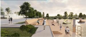 Благоустройство парка «Молодежный» позволит создать для жителей муниципалитета комфортную зону отдыха с уникальным архитектурным решением.
