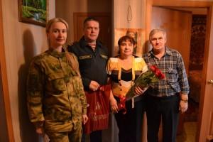 В Самаре Росгвардейцы посетили родственников своих коллег, погибших при выполнении служебного долга