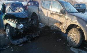 В Волжском районе в ДТП пострадали трое