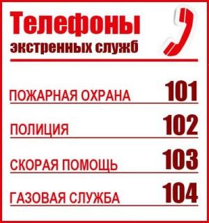Kак вызвать экстренные службы по мобильному телефону?