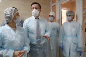 Где с первого апреля проводят исследование анализов на новую коронавирусную инфекциию. Здесь уже проверено 330 проб, все результаты - отрицательные.