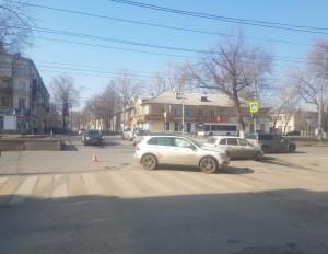 В Самаре в ДТП пострадала автомобилистка