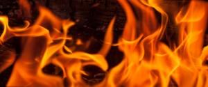 В очаге пожара уровень радиации составил 2,3 при норме 0,14.