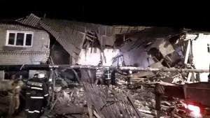 Один из двух погибших при обрушении дома после взрыва газового баллона в Нижегородской области пришел в гости к родственникам.