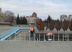 Пробный пуск городских фонтанов запланирован на 18 апреля.