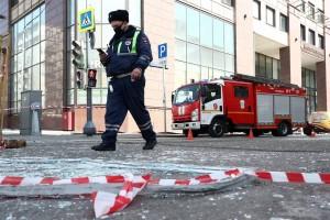 """Взрыв произошел в бойлерной бизнес-центра """"Панорама""""."""