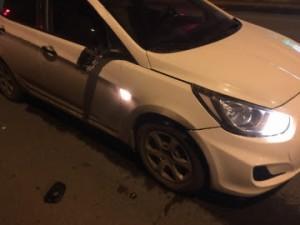 В Самаре пешеход переходил улицу на красный свет и попал под машину