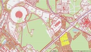 Около Самара Арены планируют построить жилой квартал и ТРЦ
