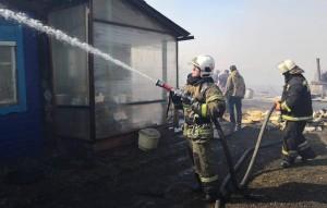Возгорания произошли в четырех населенных пунктах региона.