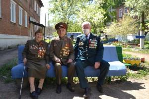 Персональные парады провели для ветеранов ВОВ, которые в разные годы, проходили службу в подразделениях Росгвардии.