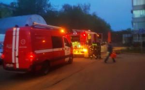 На севере Москвы произошел пожар в ГКБ № 50, где лежат пациенты с коронавирусом.
