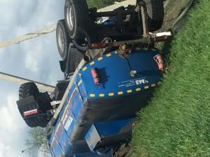 В ДТП в Самарской области погиб водитель большегруза