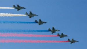 Авиационную часть празднования Дня Победы повторят