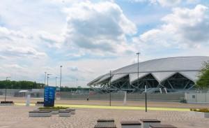Жюри определило четырёх финалистов, которые разработают свои варианты мастер-плана территории, прилегающей к стадиону.