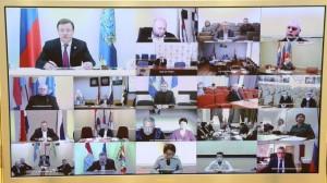 Дмитрий Азаров провел очередное заседание оперативного штаба Самарской области.
