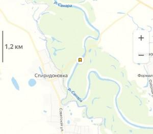 В Самарской области затопило мост