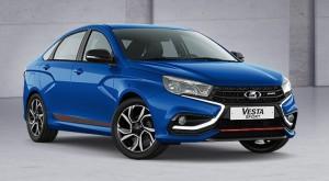Спортивная модель семейства LADA Vesta получила два новых цвета – черный металлик «Маэстро» и ярко-синий металлик «Дайвинг».