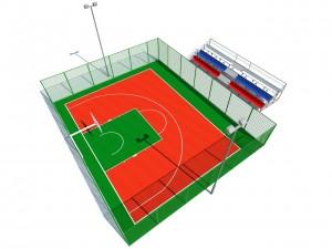 В Тольятти появятся сразу 3 современные площадки для уличного баскетбола