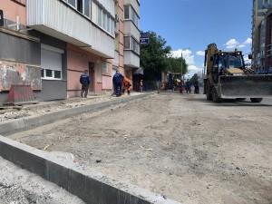 Работу подрядной организации на улице Ленинской оценили представители партии «Единая Россия».