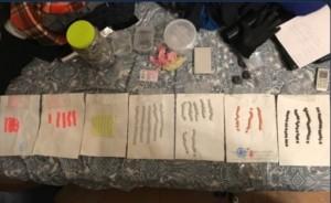 Сотрудники отряда спецназначения «Гром» ГУ МВД России по Самарской области задержали наркосбытчика