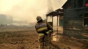 Причиной пожара в Яицком в Самаре мог стать поджог