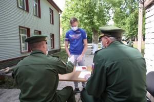 Годичную службу по призыву в рядах Вооруженных Сил Российской Федерации завершили 40 рядовых, прибывших в Самару из разных регионов ЦВО.