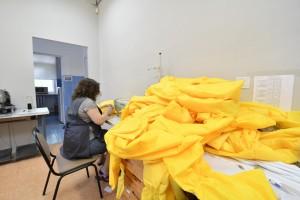 Защитные костюмы соответствуют всем необходимым требованиям для работы с особо опасными инфекциями и имеют регистрационные удостоверения.
