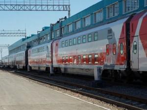 Двухэтажные вагоны СВ поступили на Куйбышевскую железную дорогу