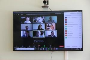 На заседании региональной общественной палаты, в режиме онлайн, эксперты обсуждали обеспечение прозрачности процедуры голосования.