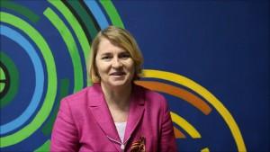 Она выступила с докладом «Библиотеки и онлайн – вызов» и рассказала о работе библиотеки в онлайн-формате.