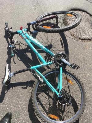 В Тольятти молодой велосипедист попал под колеса