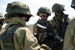 Согласно замыслу, военнослужащие провели разведку местности, определив численность, состав и вооружение условного противника.