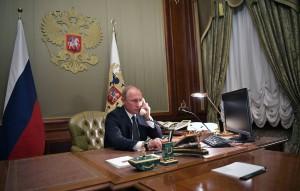 Президенты России и США обсудили, в частности, меры по борьбе с коронавирусом и стратегическую стабильность.
