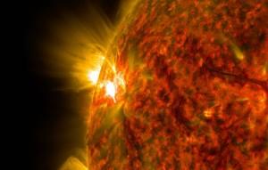 Это говорит о том, что начался новый цикл солнечной активности.