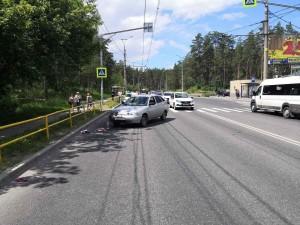 В Тольятти молодой водитель сбил пешехода