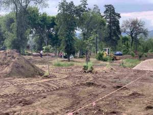 В Самаре приступили к благоустройству сквера Овчарова