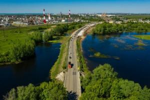 Транспортные развязки в Куйбышевском районе Самары приобретают первые очертания