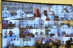 Дмитрий Азаров из Тольятти провел заседание регионального оперативного штаба Самарской области.