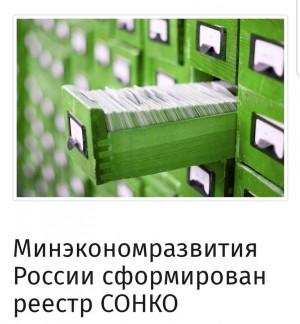 Минэкономразвития России сформирован реестр социально ориентированных некоммерческих организаций, которым будут предоставлены дополнительные меры поддержки.