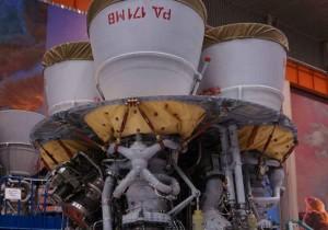 """Двигатель РД-171МВ, прозванный в России """"царь-двигателем"""", планируется использовать на первой ступени новой ракеты-носителя """"Союз-5""""."""