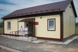 В Борском районе в рамках нацпроекта возводится новый фельдшерско-акушерский пункт
