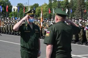 Центральное мероприятие состоялось на площади Куйбышева.
