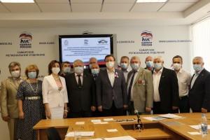 """В ходе встречи обсуждался план совместных мероприятий регионального отделения """"ЕР"""" и общественной организации."""